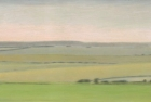 21 'Sussex Downs from Beachy Head' pastel 16 x 48 cm 2012