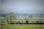 PL12 'Bedale, November' pastel 56 x 84 cm 1995