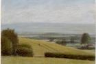 PL02 'Bedale landscape study' pastel 13 x 18 cm 1994