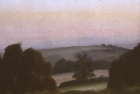 OL006 'Washington Hill' oil on paper 18 x 24 cm 1975