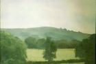 OL026 'Washington Hill' oil on canvas board 18 x 24 cm 1978 (Private collection)