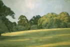 OL036 'Wiston evening landscape' oil on canvas 40 x 60 cm 1979 (Private collection)