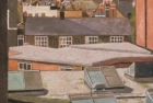 OL059 'Islington Landscape II' oil on canvas 102 x 76 cm 1982