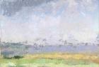 OL095 'Waldridge Fell, Durham' oil on canvas board 19.5 x 23 cm 1988