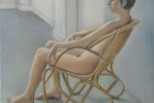 13 'Life drawing, Heatherley's' pastel 30 x 24 cm 2012