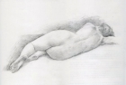 18 'Figure study' pencil 26 x 43 cm 2009