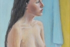 15 'Bernie' oil on canvas 35 x 25 cm 2014