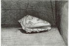 26 E10 'Shell' etching and aquatint, plate 10 x 14 cm 1985