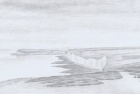 3 E52 'Seven Sisters from Belle Tout' pencil 24 x 42 cm 2012