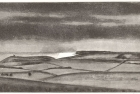 7 E50 'Belle Tout and Seaford Head' etching and aquatint' plate 16 x 30 cm 2013