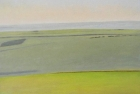 14 OL181 'Went Hill study' oil on canvas 35 x 50 cm 2012