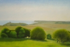 03-sussex-downs-nr-birling-gap-ii-oil-on-canvas-25-x-40-cm-2005-private-collection