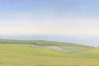 21 OL155 'Belle Tout and Birling Gap' oil on canvas 20 x 50 cm 2009