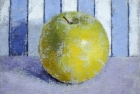 OSL095 'Apple' oil on canvas 13 x 15 cm 1995 (exhibited RA Summer exhibition)