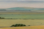 27 'Sussex Downs near Beachy Head study III' pastel 13 x 26 cm 2000 (Private collection)