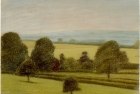 PL07 'Wensleydale near Newton le Willows' 13 x 18 cm 1994