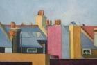 OL050 'Highbury rooftops' oil on canvas 45 x 61 cm 1982