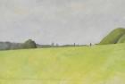 OL063 'Field, Wiston' oil on canvas 1983
