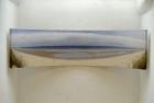 OL134 'Druridge Bay Panorama' oil on canvas board 46 x 183 cm 1988-99
