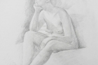 20 'Alice' pencil 60 x 40 cm 2004