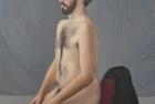 6 'Louis' oil on canvas 30 x 25 cm 2017