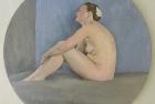 8 'Emma tondo' oil on canvas 29 cm 2016