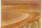 13 E37 'Druridge Bay' 3 plate colour etching 8 x 10 cm 1994