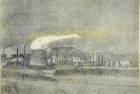 14 E34 'Wilton' soft ground 2 plate etching, plate size 14 x 18 cm 1991