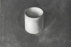 2 E55 'Stand Alone Cup' etching and aquatint, 25 x 20 cm 2017