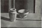 29 E06 '2 pots' etching and aquatint, plate 13 x 18 cm 1983
