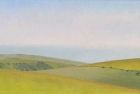 20 OL156 'Birling Gap from Warren Hill' 20 x 35 cm 2009 (Private collection)