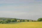 3 OL202 'Warren Hill from Beachy Head' oil on canvas 33 x 77 cm 2016